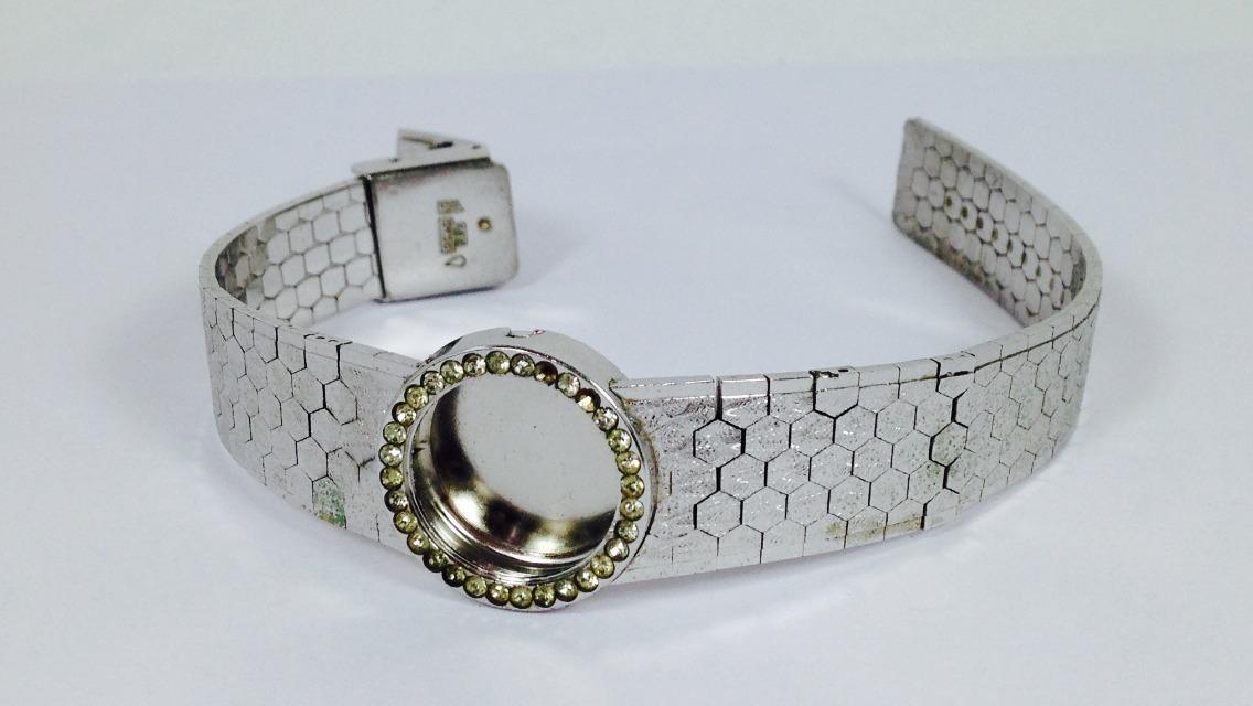 Reloj omega oro blanco mujer