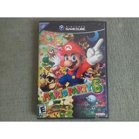 Caja Y Manuales Mario Party 6 Gamecube