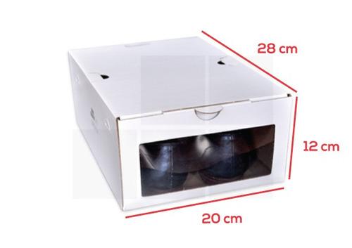 caja zapatos enorden (hasta talle 40)-pack 12 unidades