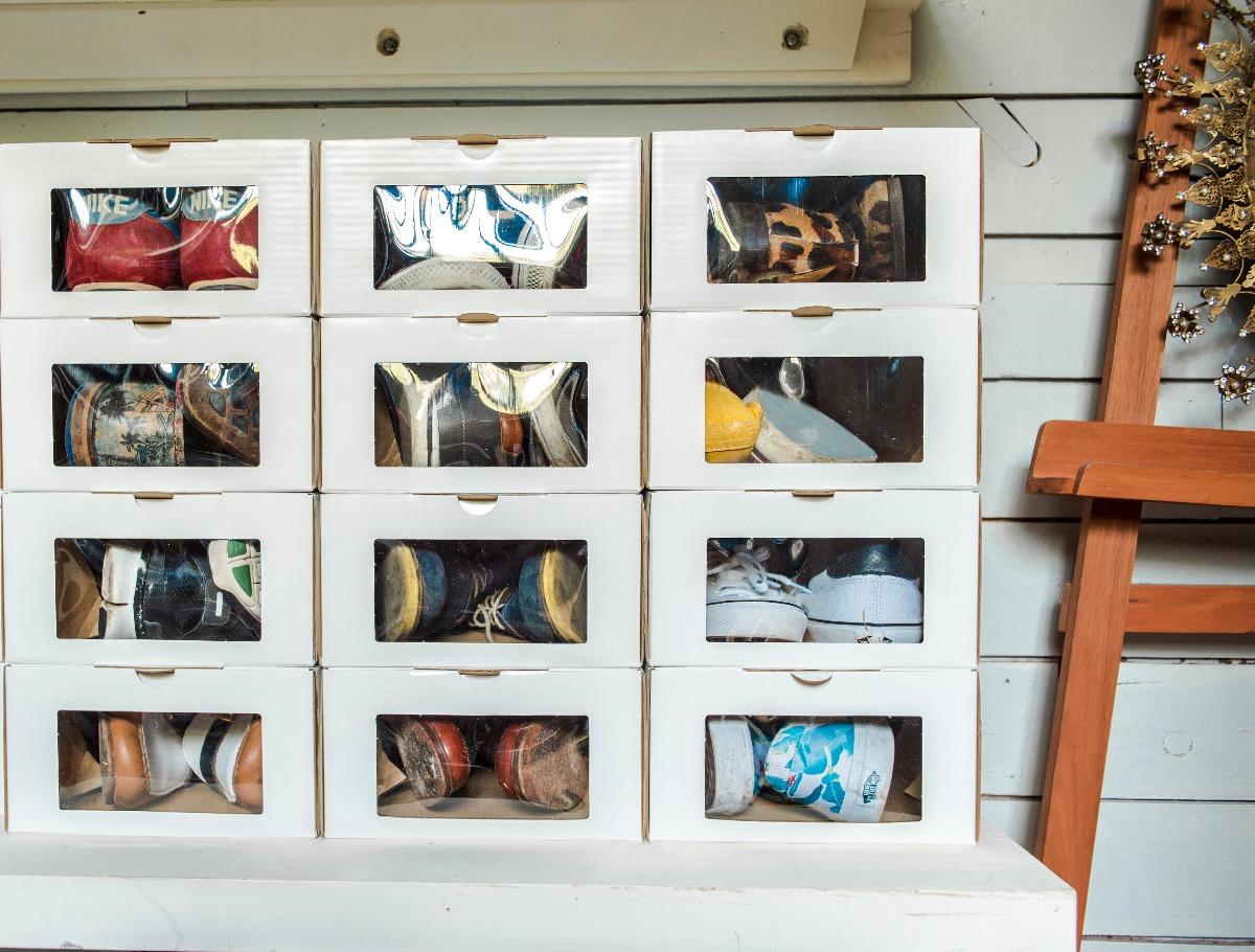 Caja Zapatos Organizadora Talle 40 46 Pack 12 Unidades 700  ~ Cajas Transparentes Para Zapatos
