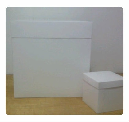 cajas a tu medida blanca.forma de corazon-redondas-cuadradas
