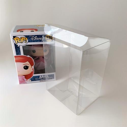 cajas acetato protec funko pop regulares ( 10 unidades)