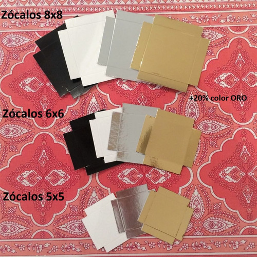 cajas acetato transparente 6x6x6 cm con zócalo