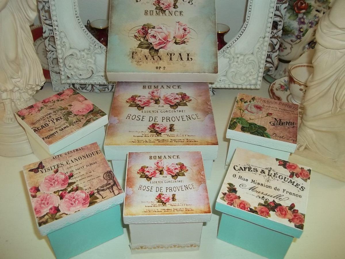 Decoracin cajas ideas para decorar cajas de fresasdiy recycled wood box youtube with decoracin - Decoracion vintage chic ...