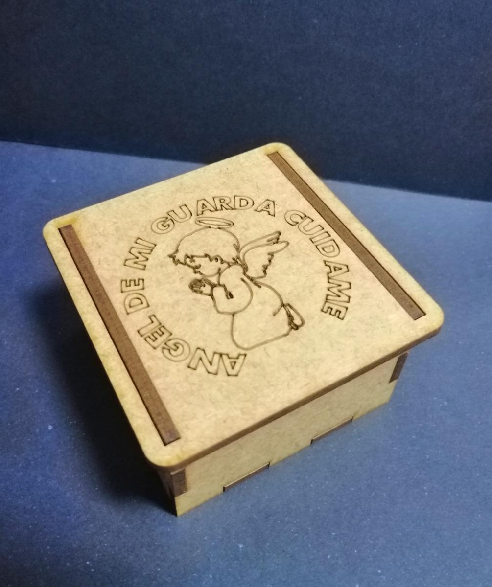 Cajas Bautizo.Cajas Bautizo Comunion En Mdf Crudo 6x6x3 5 Corte Laser