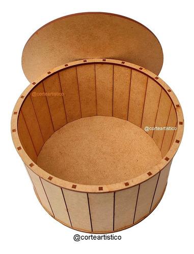cajas cajitas redonda circular personalizada recuerdo flores