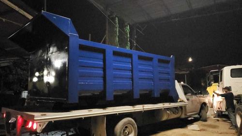 cajas  camión volteo