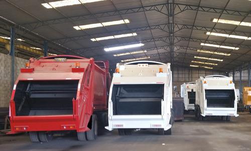 cajas compactadoras de basura nuevas