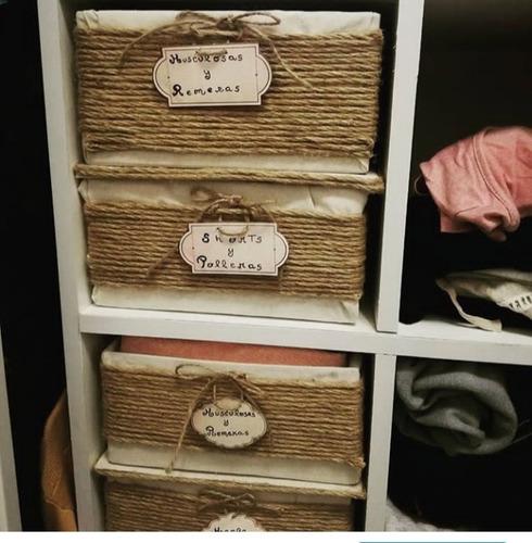 cajas contenedoras, agendas organizadoras y tarjetas emotiva