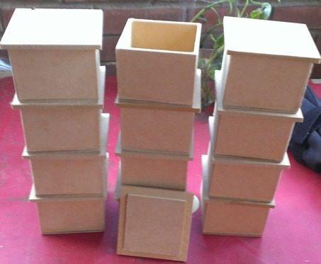 cajas cotillones baul figuras en mdf