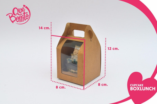 cajas cupcakes panques muffins lonchera boxlunch 1 cavidad