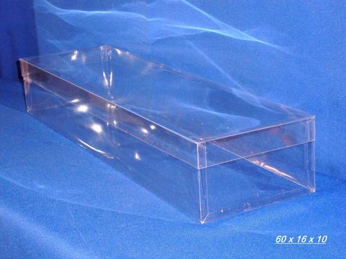 cajas de acetato cristal. floristeria, cotillones y eventos.