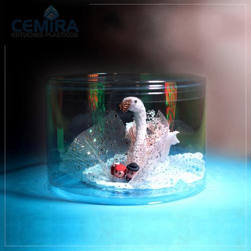cajas de acetato transparente - +1000 modelos.