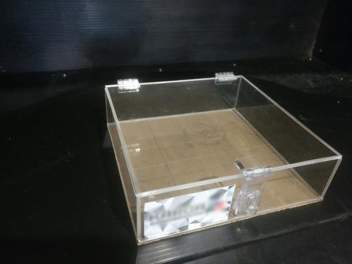 cajas de acrílico ejemplo 22*22*8