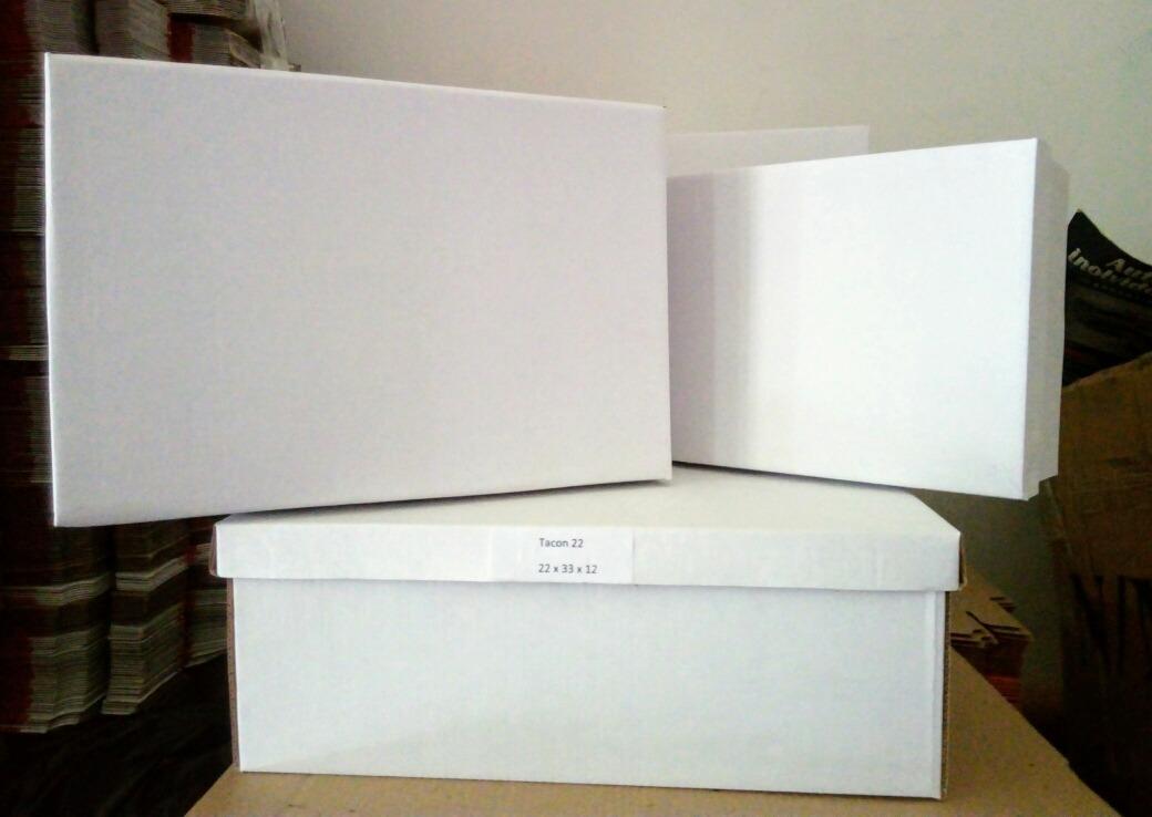 a71da53b26 Cajas De Carton C/ Tapa Para Zapatos 22x33x12 Pack De 25 Und - $ 730 ...