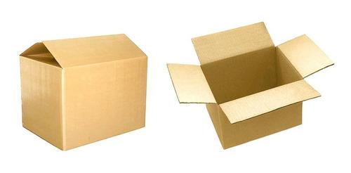 cajas de carton corrugado 15x15x15. pack de 50 unidades.