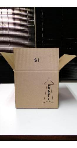 cajas de carton corrugado 70 lbs nuevas 265x205x175