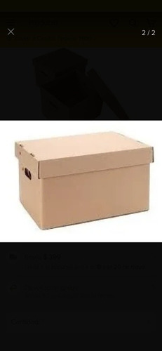 cajas de carton corrugado standar y a medida estampadas