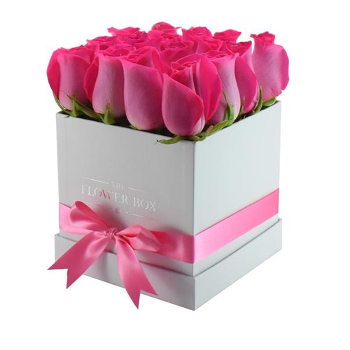 cajas de carton forradas redonda y cuadrada  para flores