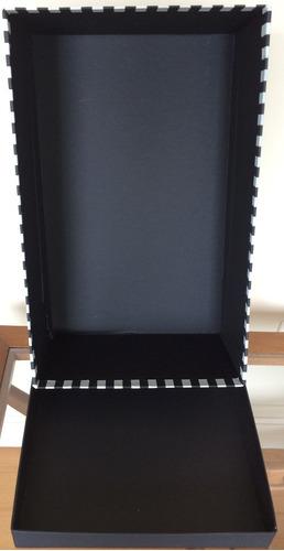 cajas de cartón forradas rigidas regalos deco - unico modelo