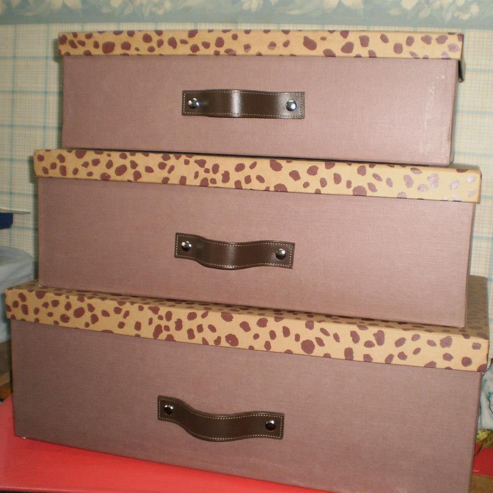 Cajas De Carton Organizadoras 25x35x10 190 00 En Mercado Libre ~ Cajas De Carton Decorativas Grandes
