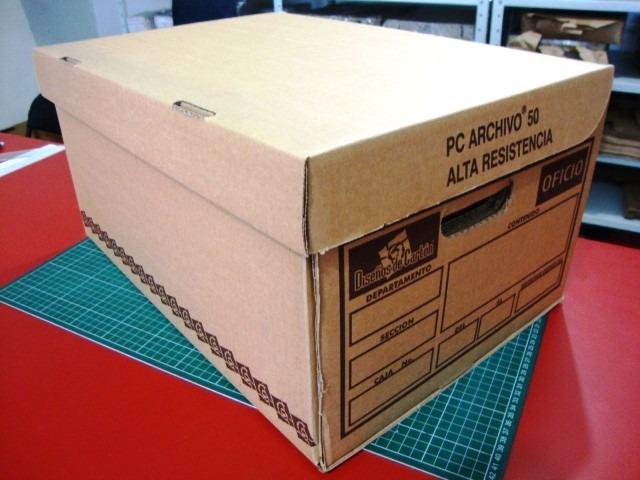Cajas de cart n para archivo embalaje sociales y a for Cajas carton embalaje