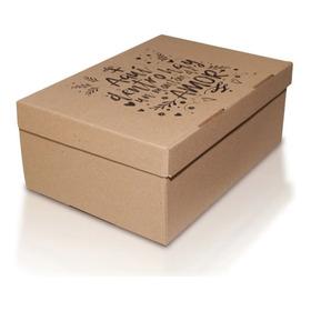 Cajas De Carton Para Regalo Mensajes Varios 32x23x13
