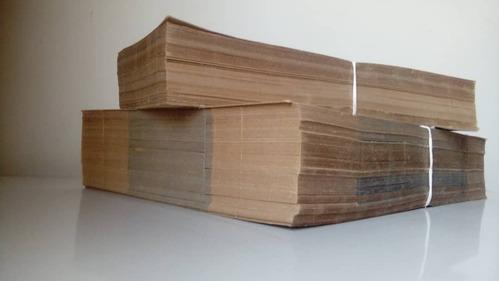 cajas de carton para zapatos paquete 100 unidades