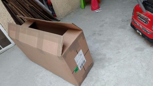 cajas de cartón seminuevas mudanzas envios empaque 40x26x76