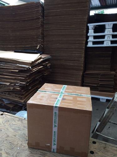 cajas de cartón usadas