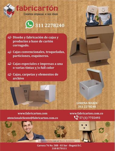 cajas de carton y material de empaque