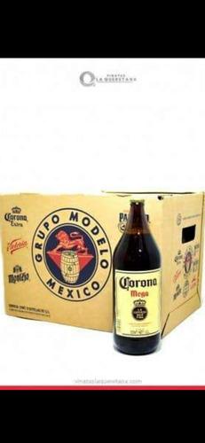 cajas de envase de cerveza corona y victoria mega y mediana