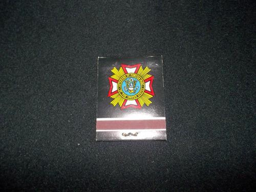 cajas de fosforos - veteranos de guerra - ee.uu-con fosforos