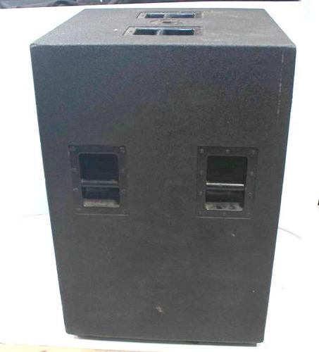 cajas de graves das compact 218 doble 18 pulgas woofer g18