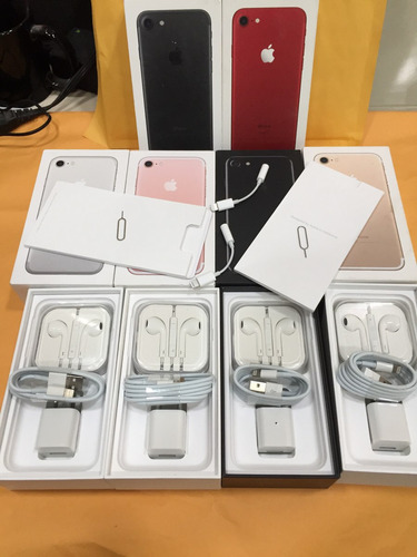 cajas. de iphone. 7 normal. y plus. con acce compatibles