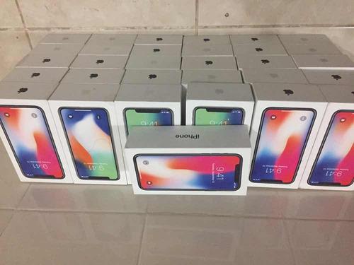 cajas de iphone x  originales. de 64 y 256 plata y negra