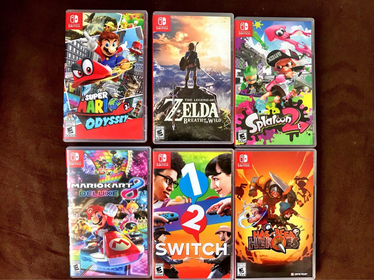 Cajas De Juegos Nintendo Switch S 30 00 En Mercado Libre