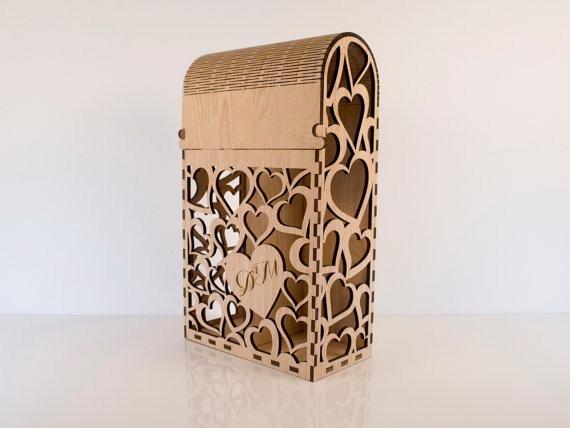 Cajas de madera corte l ser en mercado libre - Cajas de vino de madera decoradas ...