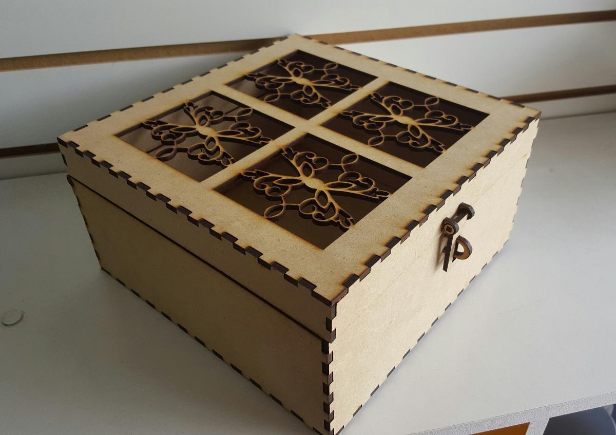 Cajas de madera corte l ser en mercado libre for Cajas de madera aki