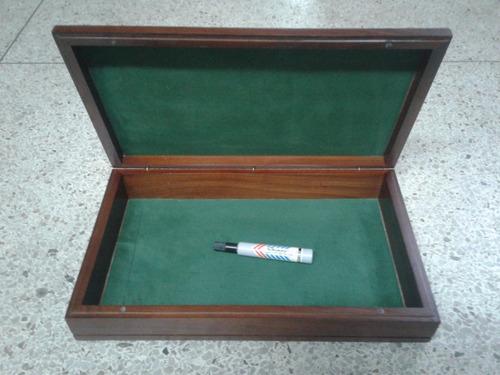 cajas de madera de lujo, cierre imantado, joyero (nuevas)
