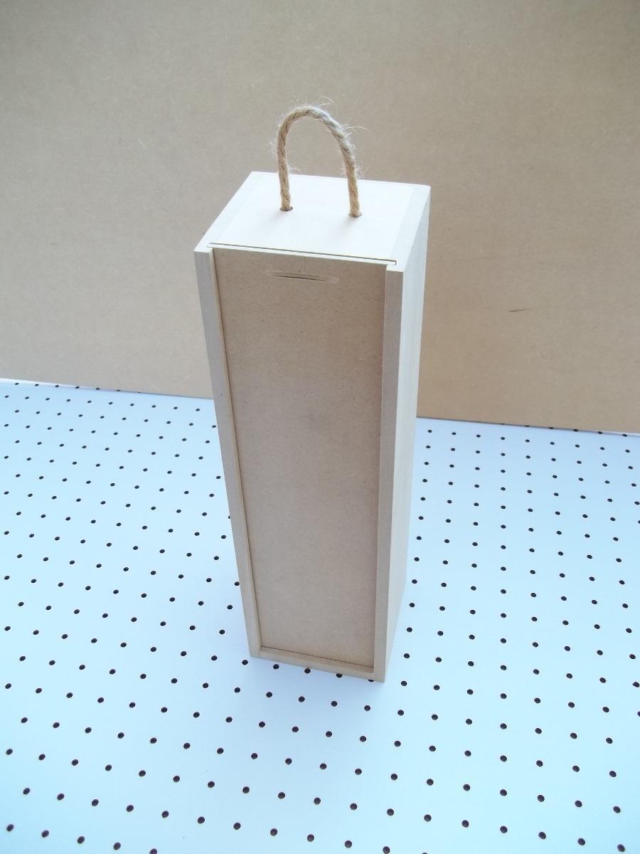 cajas de madera para botellas de vino mdf
