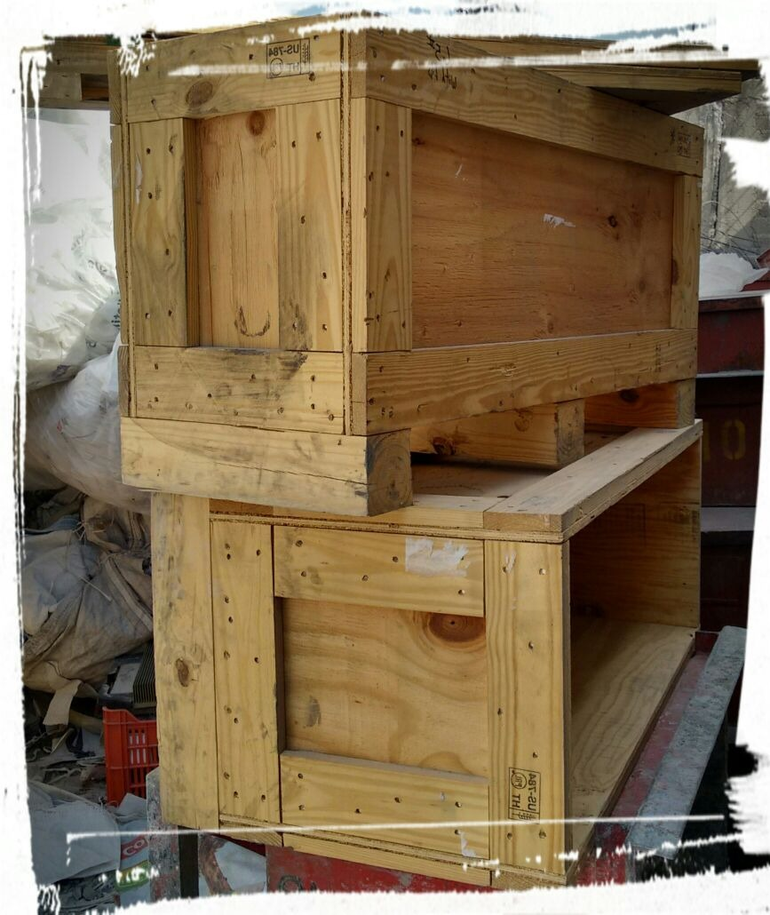 Cajas De Madera Para Muebles 1 00 En Mercado Libre # Muebles De Jabas De Madera