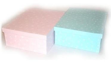 cajas de madera pintadas a mano para bebes