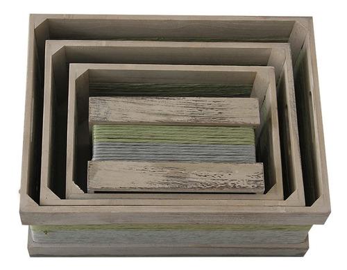 cajas de madera reciclada