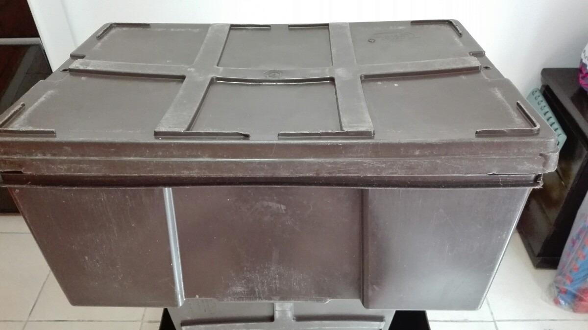 Cajas de plastico multiusos seminuevas en for Cajas de plastico precio
