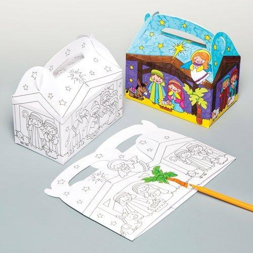 Cajas De Regalo De Color De Navidad Para Niños Para Diseña ...