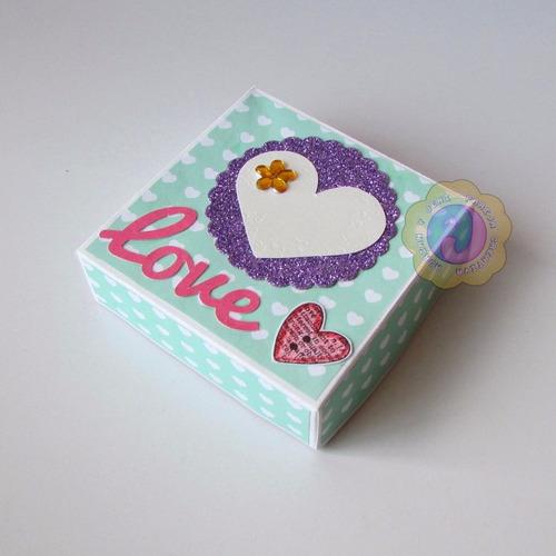 cajas de regalo decoradas. dulces, regalos, recuerdos, etc.