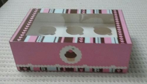 cajas de regalo para cupcakes