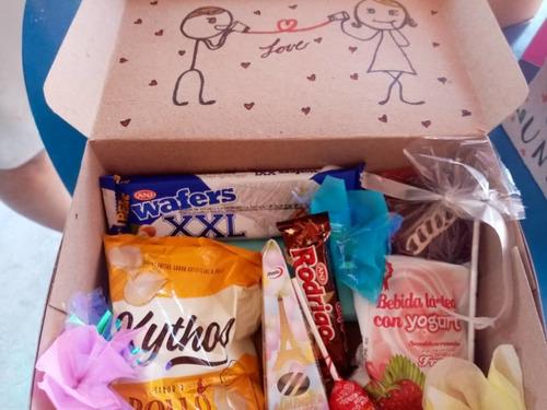cajas de regalo personalizadas con desayunos sorpresa