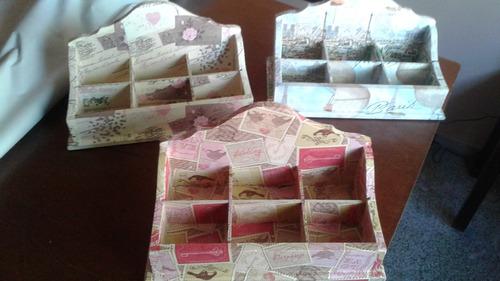cajas de té